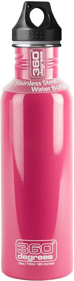 Colore: Rosa 750 ml Borraccia isolata 360/° Degrees Vacuum 2019